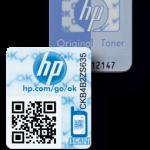هولوگرام جدید HP